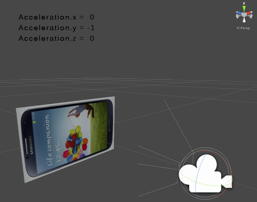 Luce Digitale | Blog Unity 3D Game Engine - Android - Accelerometer